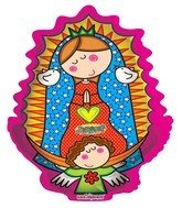 "22"" Distroller Virgencita Balloon"