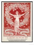 A Garland for May Day (1895) Poster