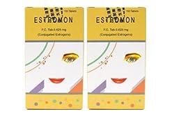 【2箱】更年期障害 エストロモン0.625mg(女性ホルモン剤)合計200錠 [海外直送品]