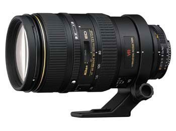 Nikon AF VR NIKKOR 80-400mm f/4.5-5.6D ED Lens