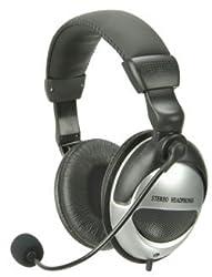 Digital Multimedia Headset with Boom Microphone
