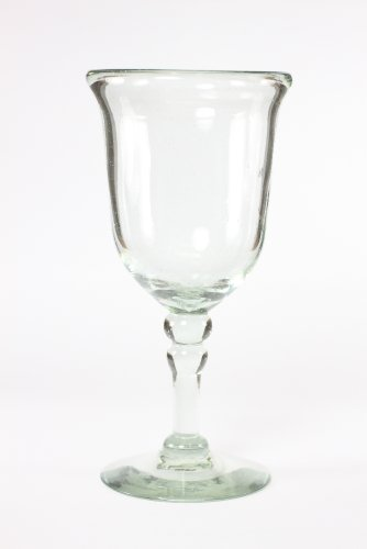 VIVAZ-Bolitas-Goblet-Clear-Recycled-Glass-Set-of-4
