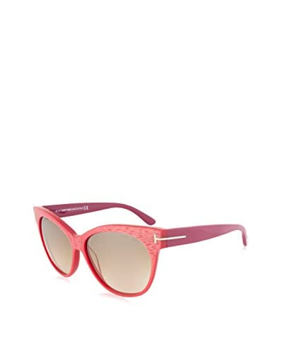 Tom Ford Saskia Sunglasses, Red Cyclamen