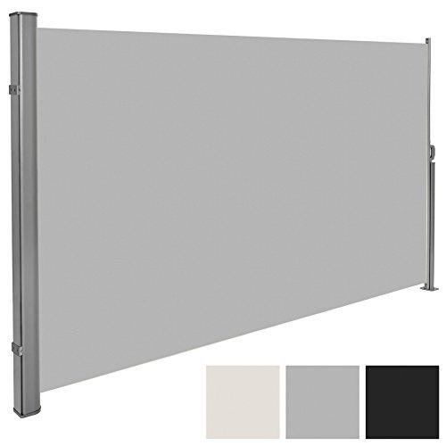 tectake seitenmarkise sonnenschutz sichtschutz windschutz. Black Bedroom Furniture Sets. Home Design Ideas