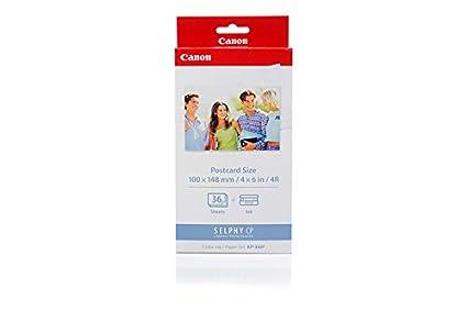 Canon Selphy CP 910 - Original Canon 7737A001 / KP-36IP - Cartouche d'encre Couleur + 36 feuilles 100x148mm -