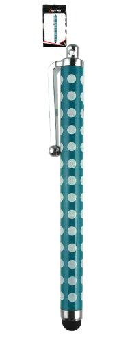 Emartbuy® Vonino Primus QS / Primus 94HD / Primus 94 3G 9.4 Zoll Tablet Blau Polka Dots TouchscreenhoherQualitätGummiTip-Stifts