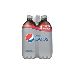 Diet Pepsi - 2L bottles - 4 ct.