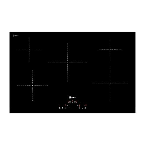 Neff T45D82X2 79cm Wide Touch Control Five Zone Induction Hob - Black