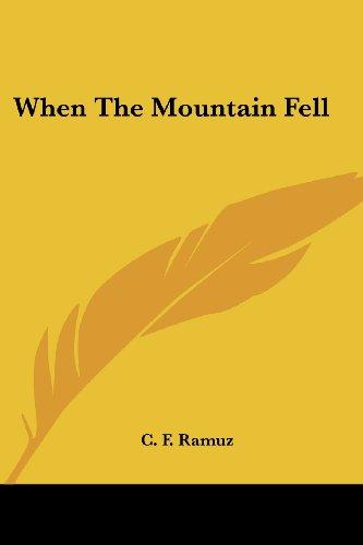 When the Mountain Fell