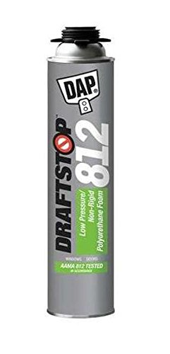Dap 80812 2 Pack 26 oz. Draftstop 812 Low Pressure Polyurethane Foam Sealant, White (Expanding Foam Gun compare prices)