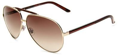 Gucci Mens GUCCI 1933 S Aviator Sunglasses by Gucci