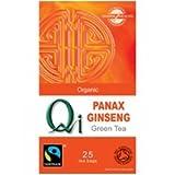 THREE PACKS of Qi Organic Green Tea & Ginseng 25 Bag