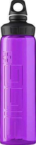 Sigg Viva Water Bottle, Purple, 0.75-Liter front-922570