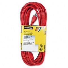 Fel99597 - Fellowes 99597 Indoor/Outdoor 25 Heavy Duty Extension Cord