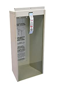 Kidde 468041 Potter Roemer Surface-Mount 5-Pound Fire Extinguisher Cabinet