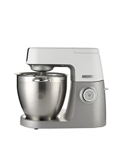 Kenwood Robot De Cocina Chef Sense KVL6010T (Regalo Elaborador de Pasta) Blanco/Plata