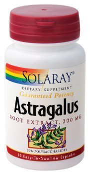 Solaray - Astragalus Root Extract, 200 mg, 30 capsules