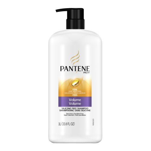 Pantene Pro-V Fine Hair Solutions Volume Shampoo, 33.80-Fluid Ounce