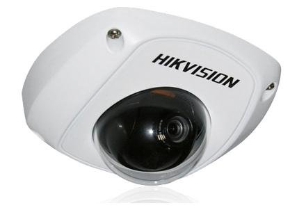 Hikvision Usa Mini Dome Network Camera - Vga Optional Built-In Microphone 3-Axis Adjustment