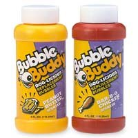Happy Dog Toys Bubble Buddy Dog-Licious Replacement Bubbles (2 Bottles)