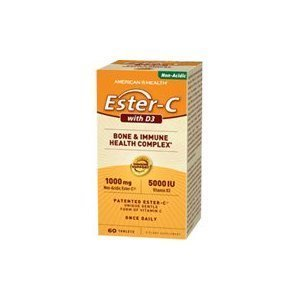Ester-C 1000 mg With D3 5000 IU - 60 - Tablet