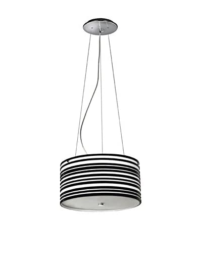 Homemania  Lámpara De Suspensión Plato Negro