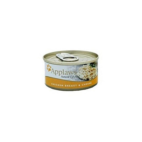 Chicken and Cheese Cat Food Tin by Applaws (70g)