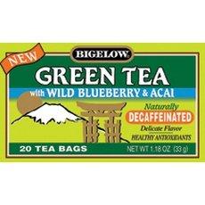 Bigelow Decaf Green Blueberry Acai Tea (6 X 20 Bag)