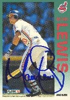 Mark Lewis Cleveland Indians 1992 Fleer Autographed Hand Signed Trading Card. by Hall+of+Fame+Memorabilia