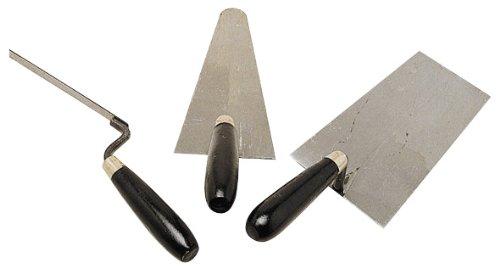 Cogex 48303 - Assortimento di cazzuole con manico in legno