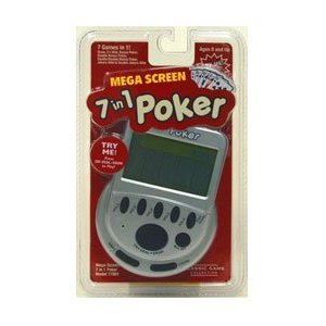 Mega Screen 7 in 1 Poker $15.68