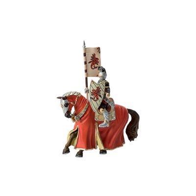 Bullyland - Bullyland Figurine World Figure Tournament Knight + Horse 14,5 c - 1