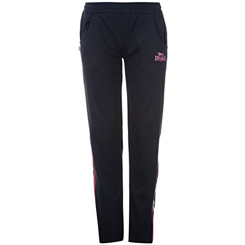 Lonsdale -  Pantaloni sportivi  - Donna Navy/Purp/Blue M
