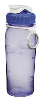 Rubbermaid Beverage Bottle Blue, Green Or Red Assorted (2-Pack),2-Pack