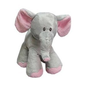 Babies R Us Plush 9 Inch Standing Elephant front-1030609