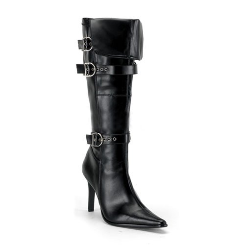 3 3/4 Inch Heel Sexy High Heel Pirate Boots Cuff