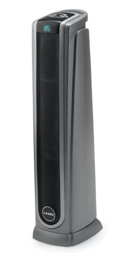 Lasko 5572 Oscillating Ceramic Tower Heater with Remote Control