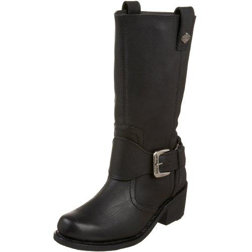 Harley-Davidson Women's Bristol Boot,Black,5