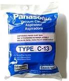 panasonic type c 13 bags amc s5ep genuine 5 pack
