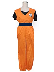 CTMWEB Dragon Ball Z Cosplay Costume - Son Goku 2nd Ver Set For Kids Small
