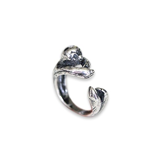 Sloth Ring (silver-plated-bronze, 5.5)