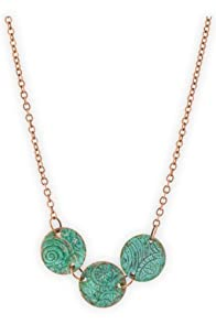 Imagine Jewelry Copper Disc Made in USA Necklace