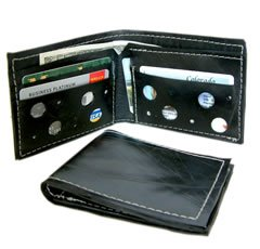 English Retreads Bifold Wallet Made in the USA Eco-friendly Recycled
