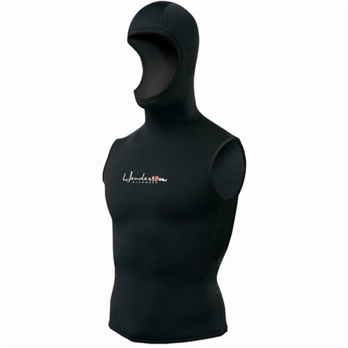 Henderson Man 5/3mm Thermoprene Hooded Vest Scuba Diving Wetsuit-XLarge (Hooded Vest Scuba compare prices)
