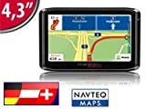 PEARL 4,3&#8243;/ 10,9 cm GPS-Navigationssystem VX-43 Easy D-A-CH Picture