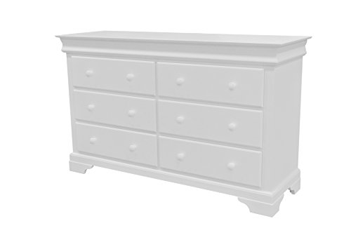 Find Discount Munire Rhapsody 6 Dresser, White