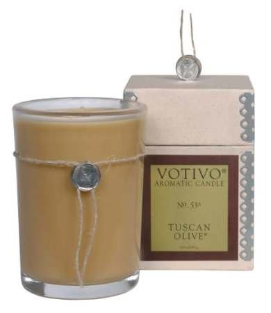 Votivo Tuscan Olive Aromatic Candle
