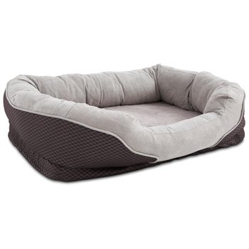 """Petco Orthopedic Peaceful Nester Gray Dog Bed, 40"""" L X 30"""" W X 10""""H"""