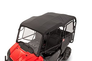 GENUINE HONDA PIONEER 700 4P 4 PERSON BLACK SOFT BIMINI CANVAS TOP 2014-2016 0SR85-HL3-323A (Honda Pioneer Roof compare prices)