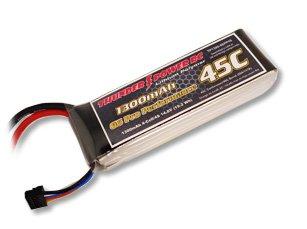 1300mAh 4S 14.8V G6 Pro Performance 45C LiPo
